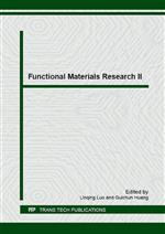 Functional Materials Research II