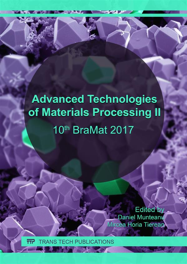 Advanced Technologies of Materials Processing II