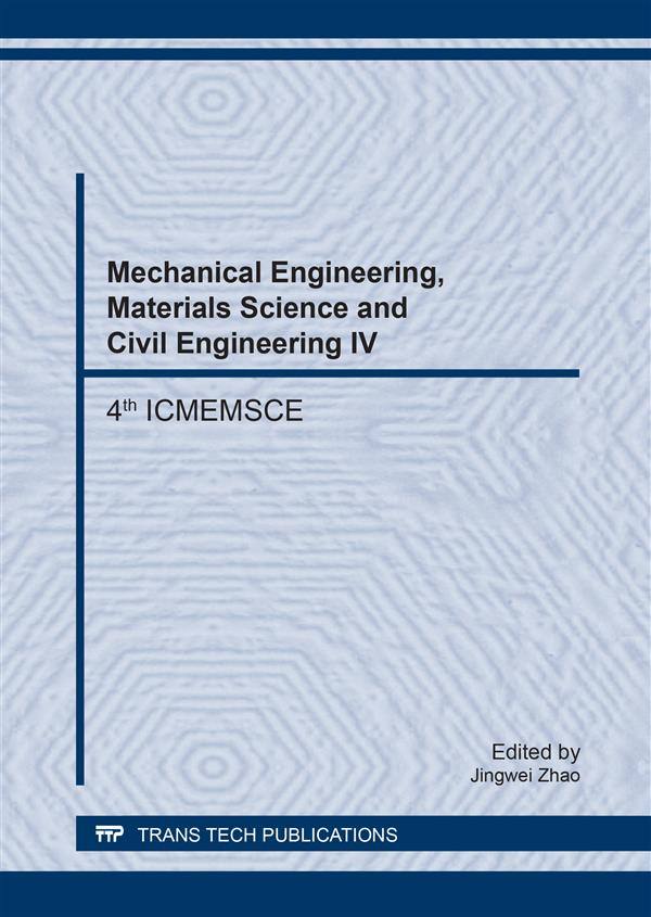 Mechanical Engineering, Materials Science and Civil Engineering IV