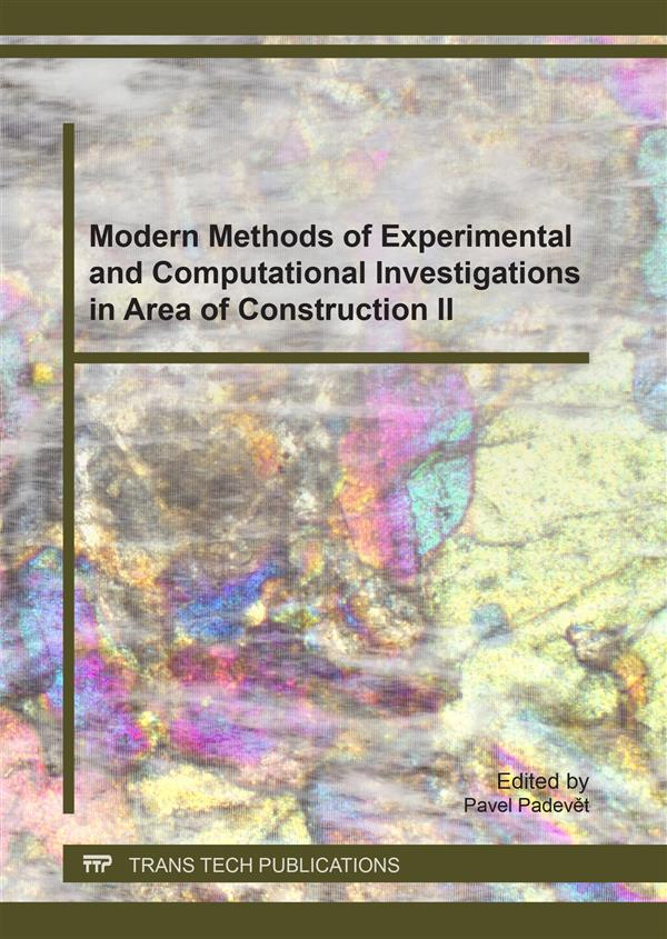 Modern Methods of Experimental and Computational Investigations in Area of Construction II
