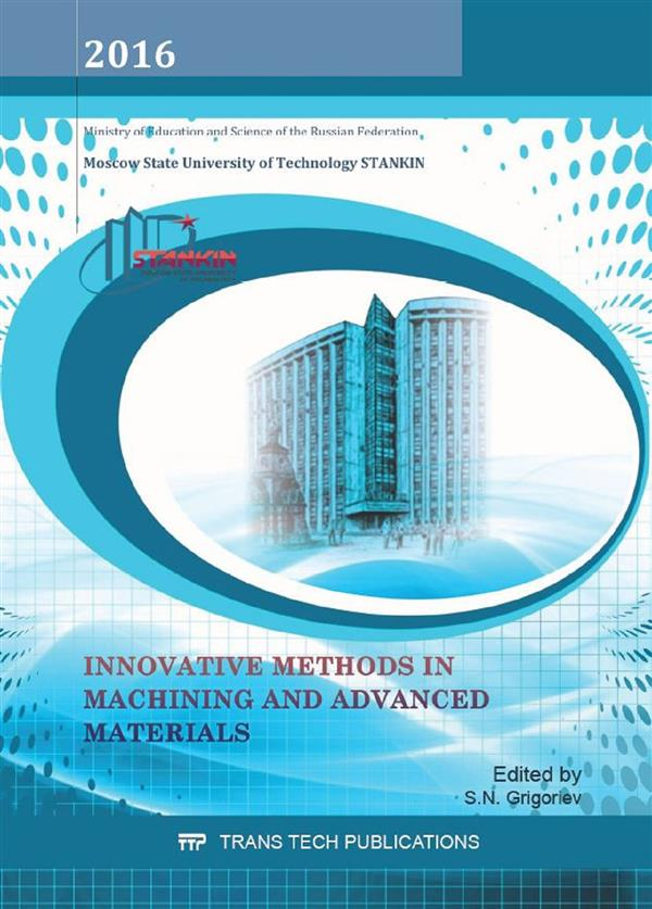 Innovative Methods in Machining and Advanced Materials