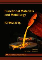 Functional Materials and Metallurgy