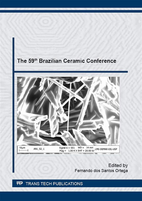 The 59th Brazilian Ceramic Conference