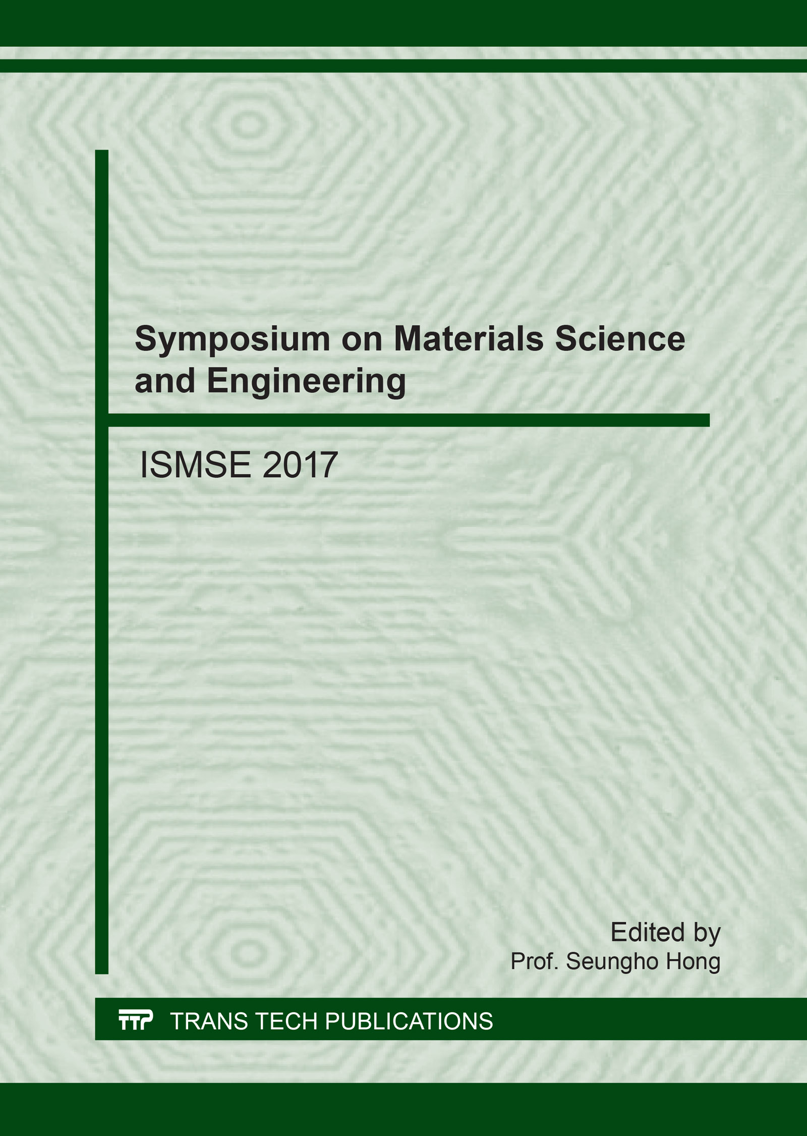 Symposium on Materials Science and Engineering