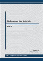 7th Forum on New Materials - Part E