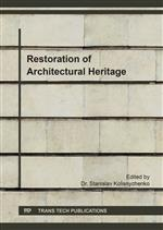 Restoration of Architectural Heritage