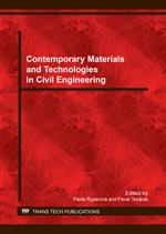 Contemporary Materials and Technologies in Civil Engineering