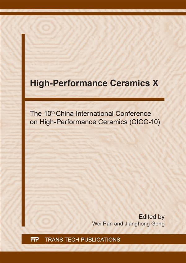 High-Performance Ceramics X