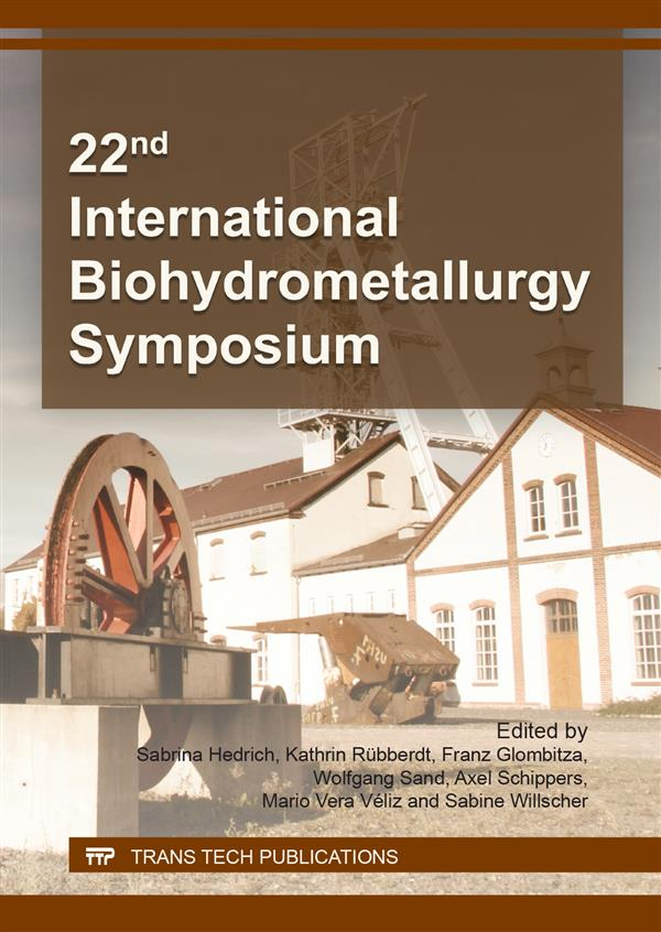 22nd International Biohydrometallurgy Symposium