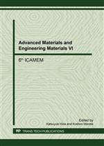 Advanced Materials and Engineering Materials VI