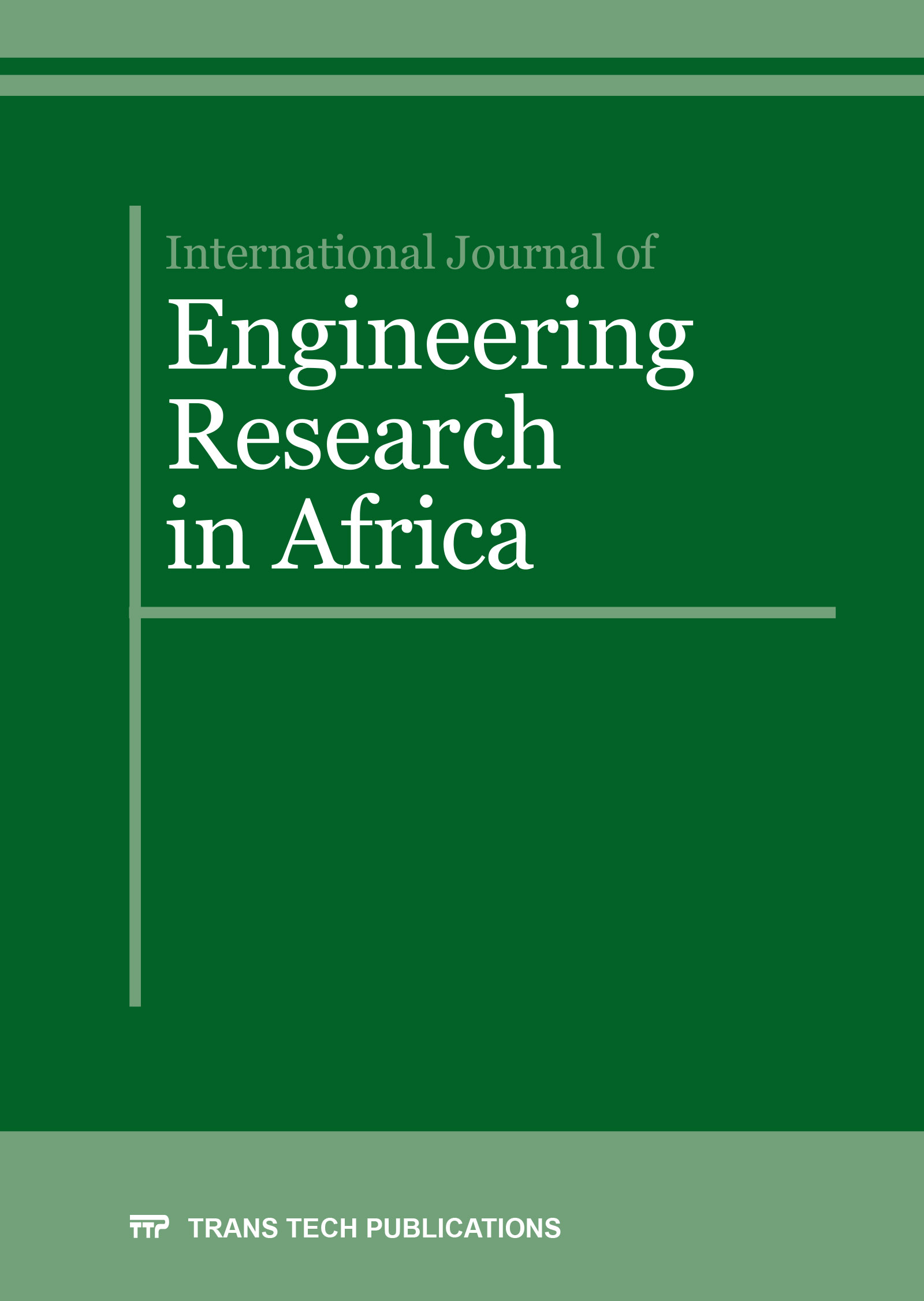 International Journal of Engineering Research in Africa Vol. 27