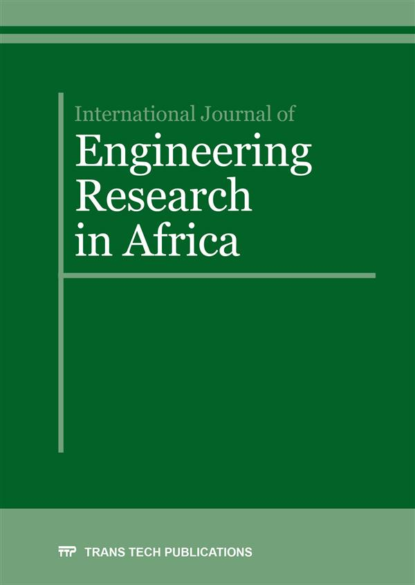 International Journal of Engineering Research in Africa Vol. 28