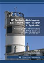 12th Envibuild – Buildings and Environment – From Research to Application