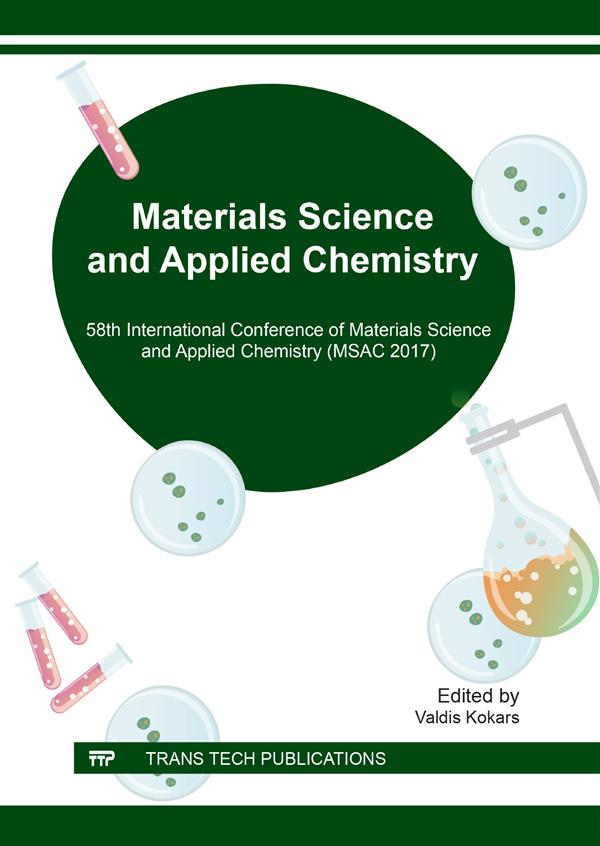 Materials Science and Applied Chemistry