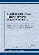 Functional Materials Technology and Industry Forum IX