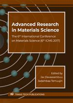 Advanced Research in Materials Science