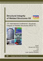 Structural Integrity of Welded Structures XII