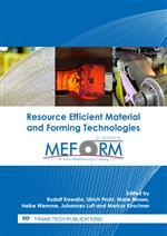 Resource Efficient Material and Forming Technologies