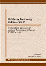 Metallurgy Technology and Materials VI