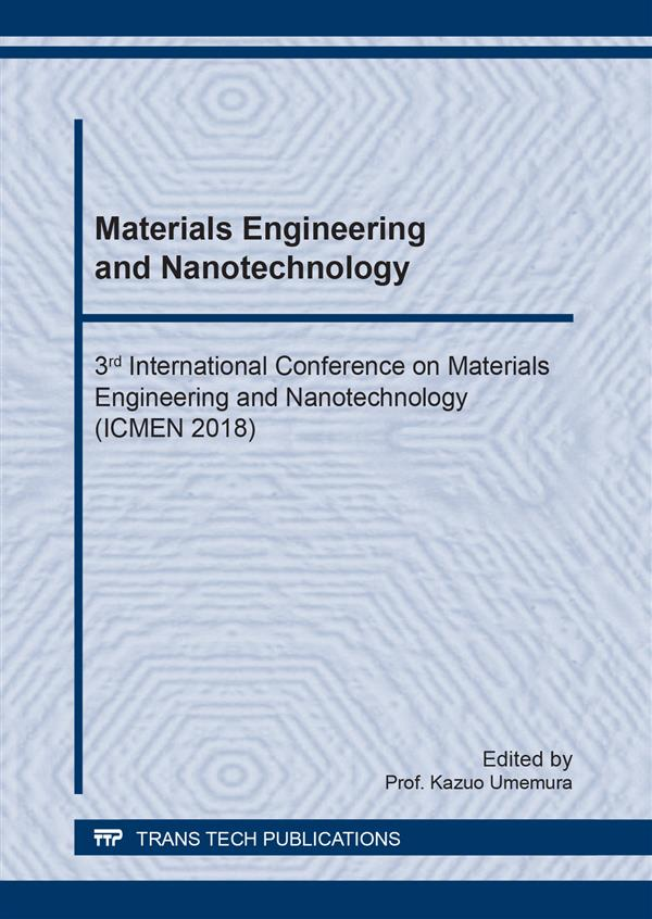Materials Engineering and Nanotechnology