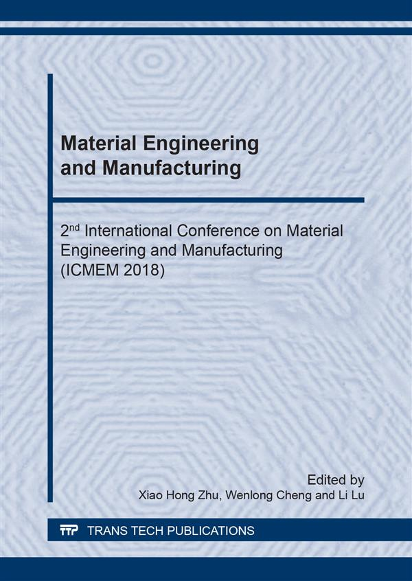 Material Engineering and Manufacturing
