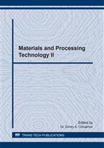 Materials and Processing Technology II
