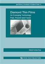 Diamond Thin Films - An Emerging Technology: Past, Present and Future