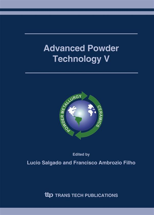 Advanced Powder Technology V