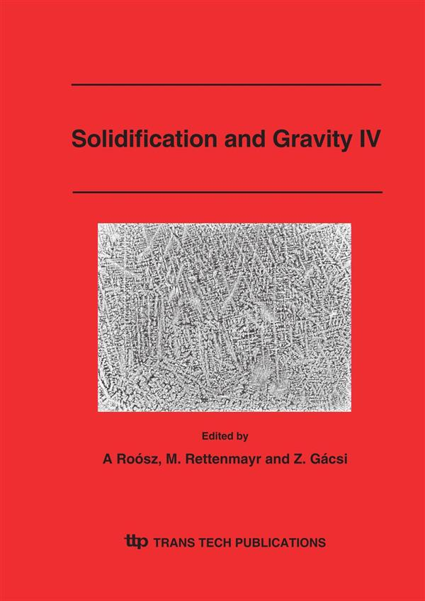 Solidification and Gravity IV