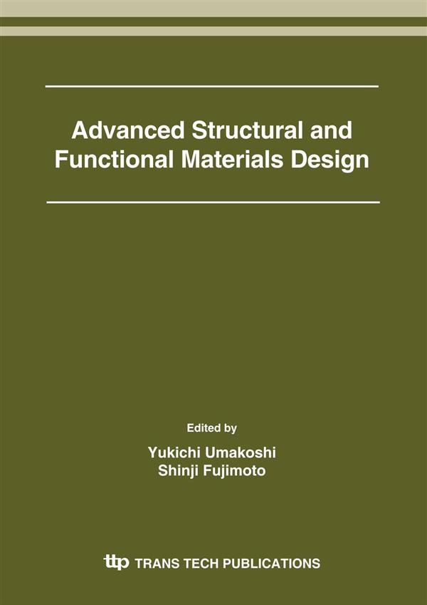 Advanced Structural and Functional Materials Design