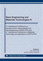 Nano Engineering and Materials Technologies IV