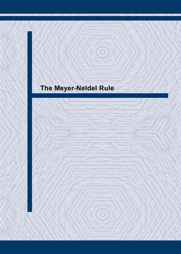 The Meyer-Neldel Rule