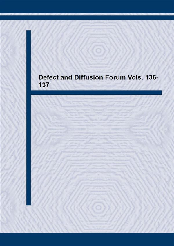 Defect and Diffusion Forum Vols. 136-137