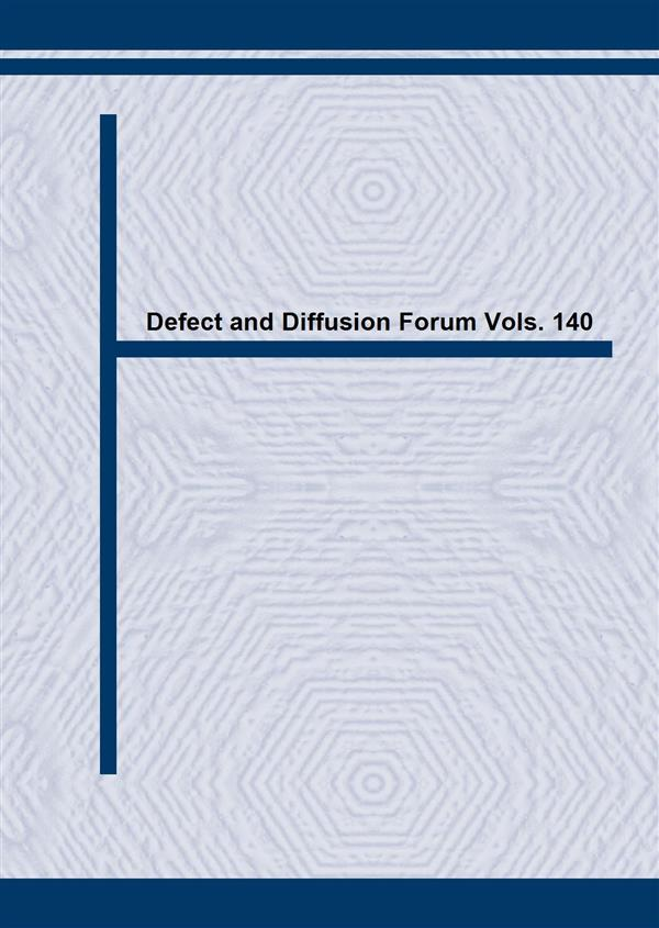 Defect and Diffusion Forum Vols. 140