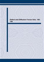 Defect and Diffusion Forum Vols. 148-149