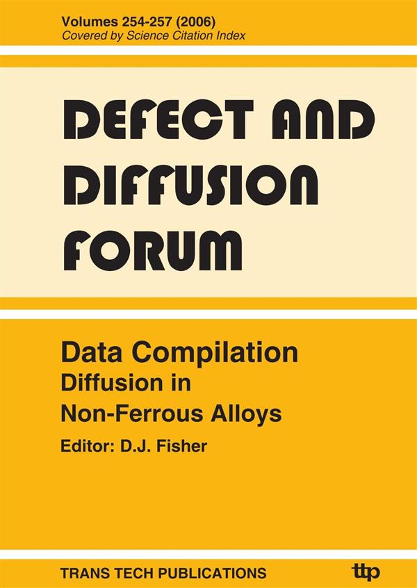 Data Compilation Diffusion in Non-Ferrous Alloys