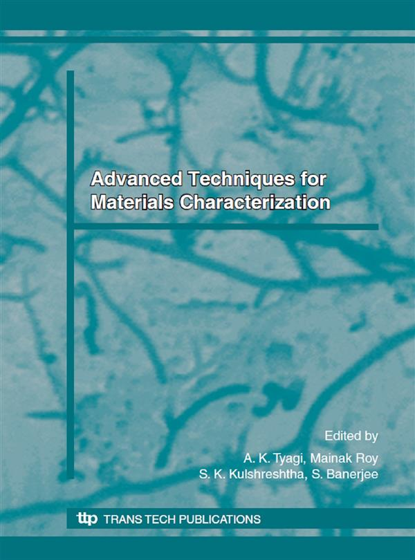 Advanced Techniques for Materials Characterization