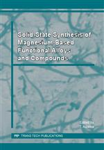 Solid-State Synthesis of Magnesium-Based Functional Alloys and Compounds