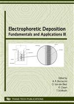 Electrophoretic Deposition: Fundamentals and Applications III