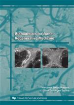 Biomaterials for Bone, Regenerative Medicine