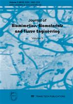 Journal of Biomimetics, Biomaterials and Tissue Engineering Vol.5
