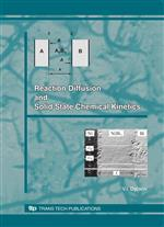 Reaction Diffusion and Solid State Chemical Kinetics