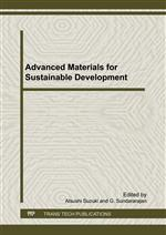 Advanced Materials for Sustainable Development