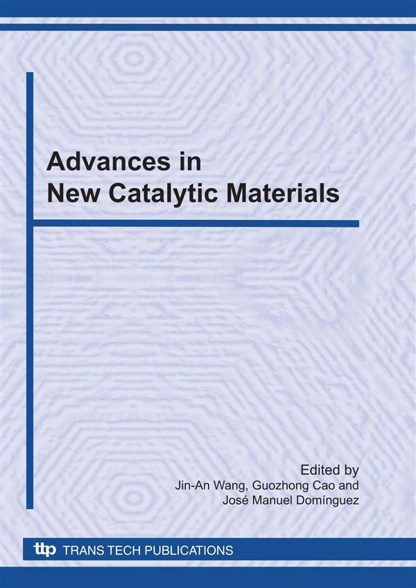 Advances in New Catalytic Materials